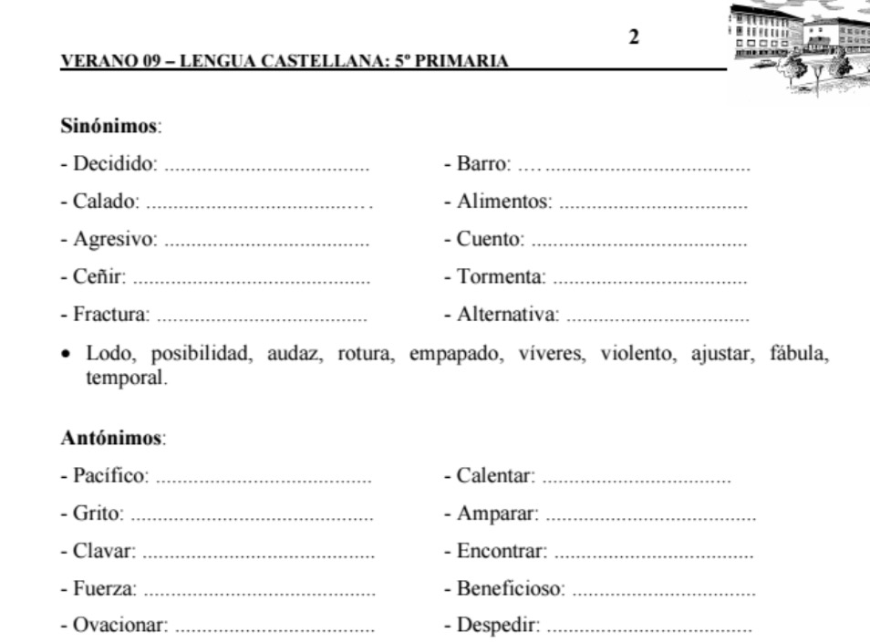 ACTIVIDADES PARA EL VERANO - Aula PT