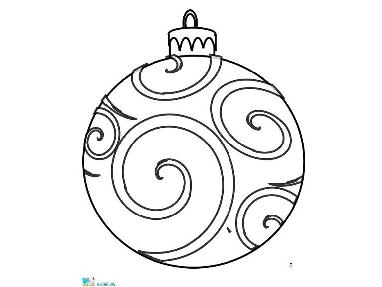 Decorta tu aula dibujos para colorear de navidad aula pt for Adornos navidenos para colorear y recortar