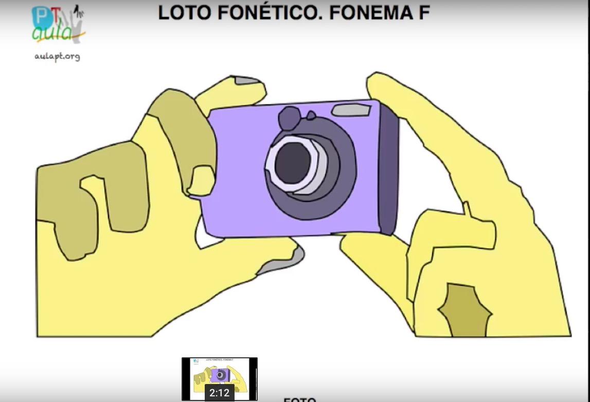 VIDEO LOTO FONÉTICO F - Aula PT