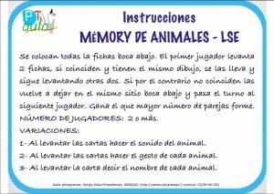 instrucciones memory