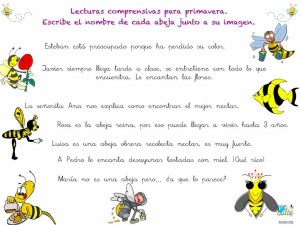 lectura abejas