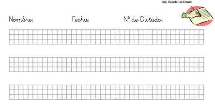 CUADERNO DE DICTADOS