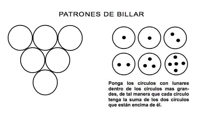 patrones de billar