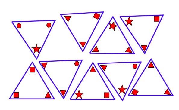 pirámide goemétrica