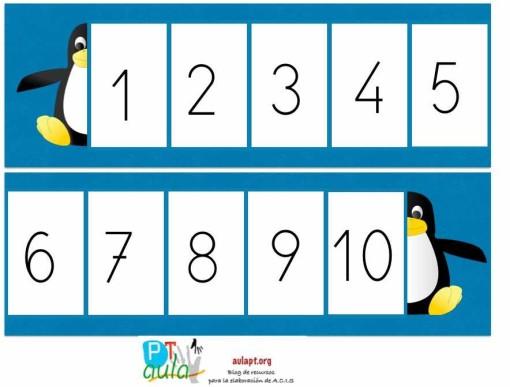 pinguino numerico