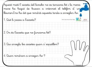 comprension lectora catalán