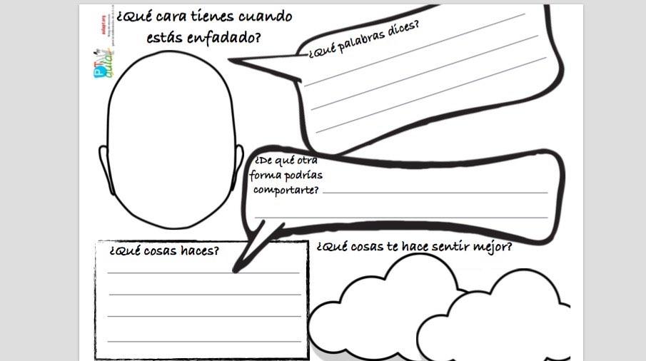 Educando en las emociones: Visualizamos el autocontrol. - Aula PT