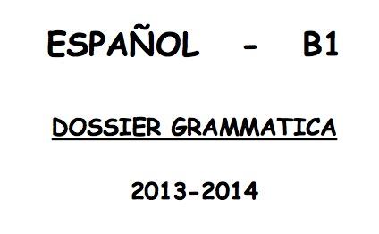 cuaderno de gramática