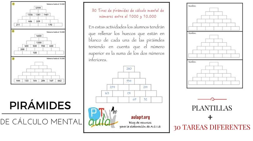 MI COLECCIÓN DE RECURSOS Y ESTRATEGIAS DE CÁLCULO MENTAL - Aula PT