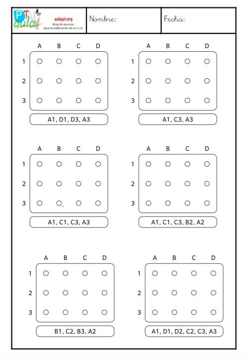 cuaderno de coordenas