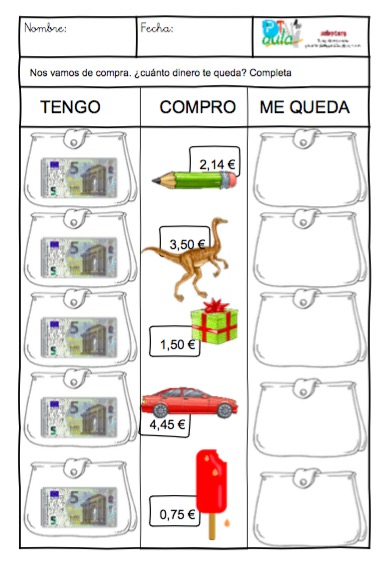 Euros archivos aula pt for Cuanto dinero tiene un cajero