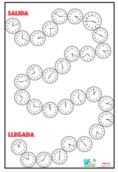 juego de horas