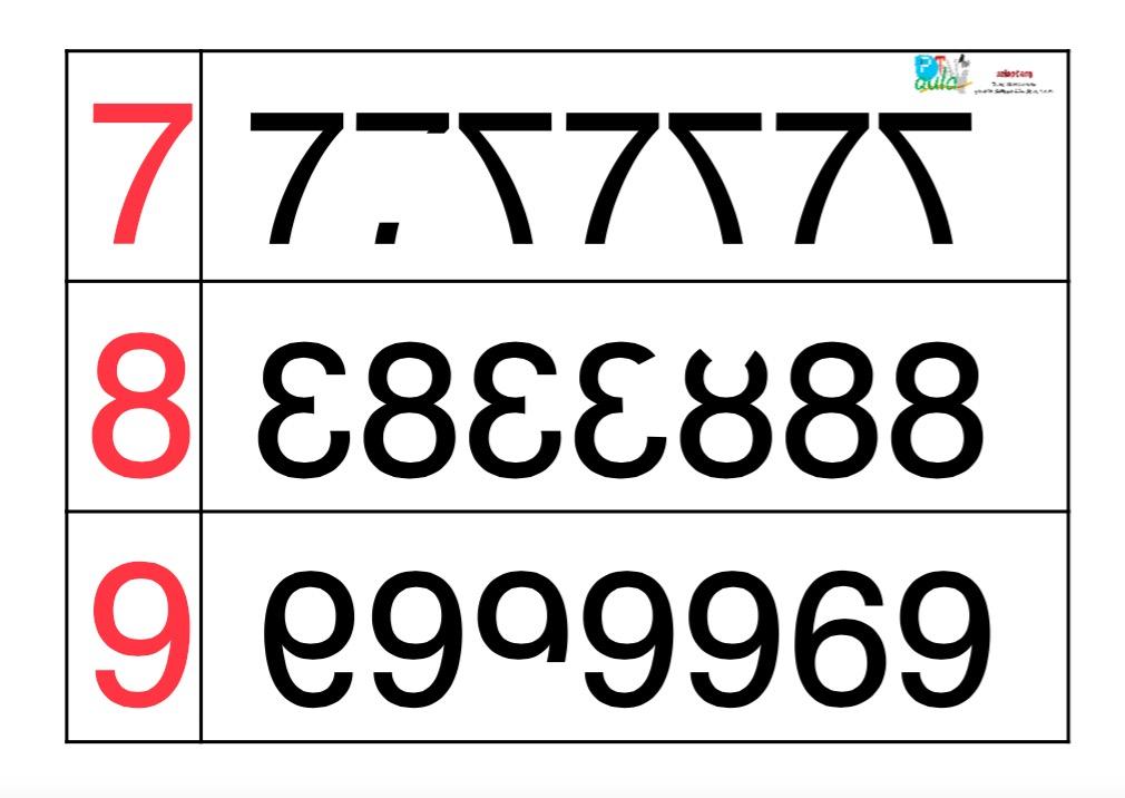 números espejo