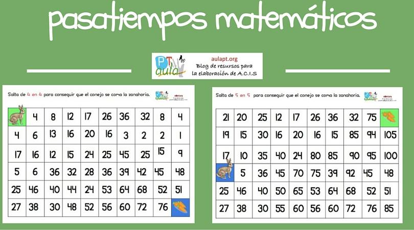 Pasatiempos matemáticos-2
