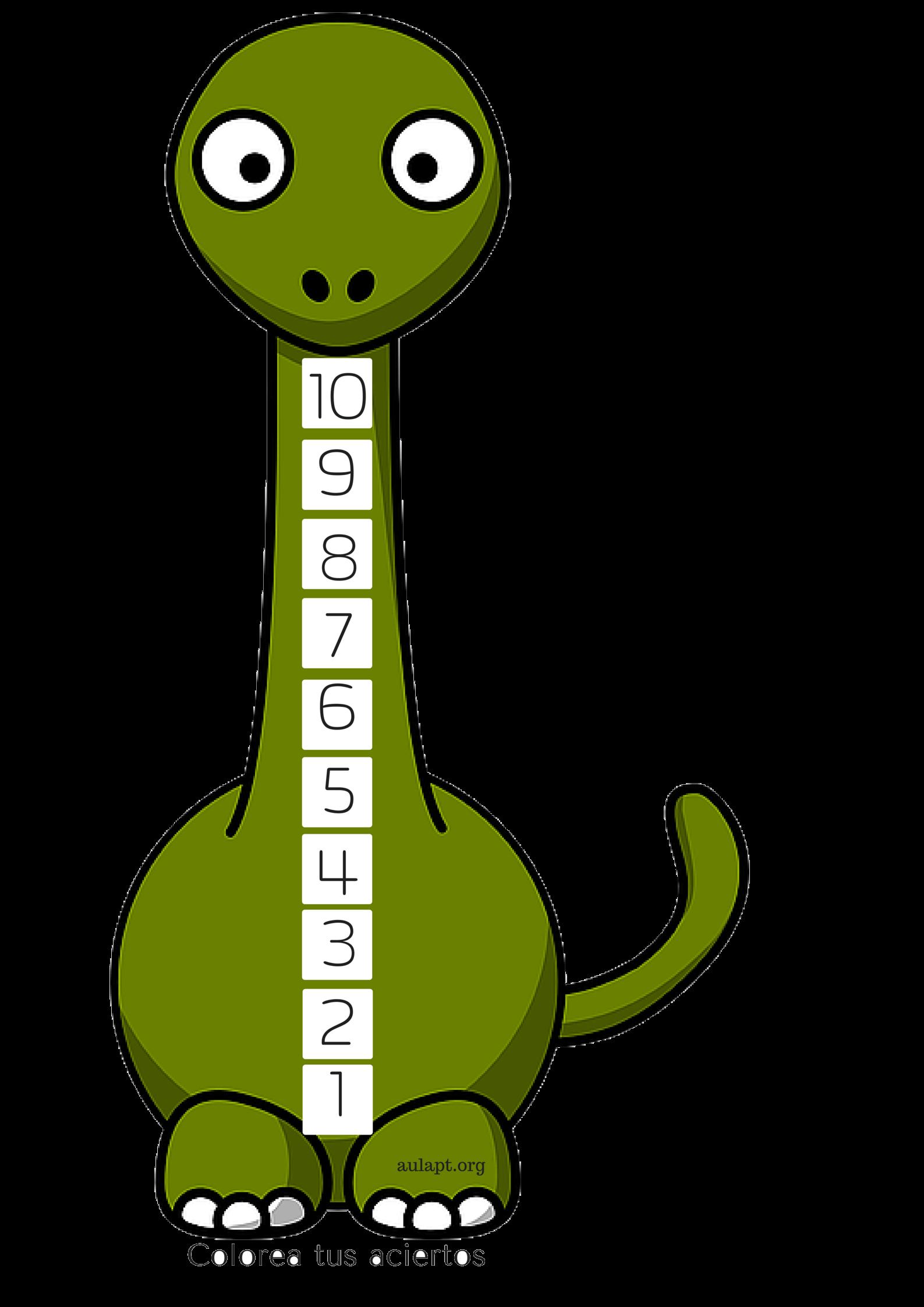 autoevaluacion dinosaurio