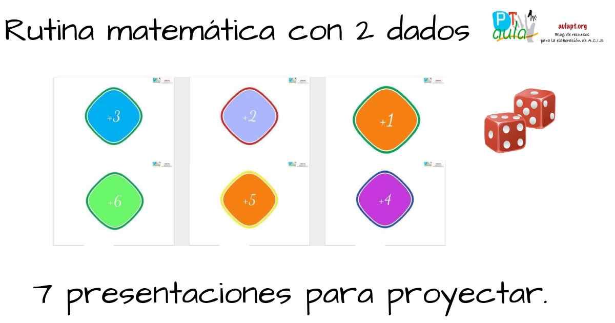 rutina matemática dados