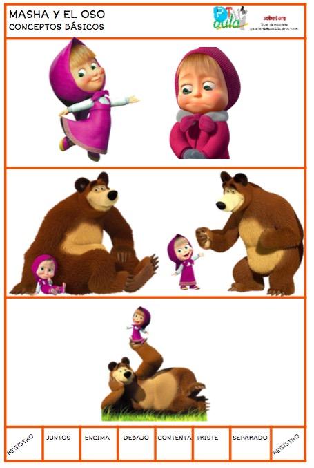 conceptos básicos masha y el oso1