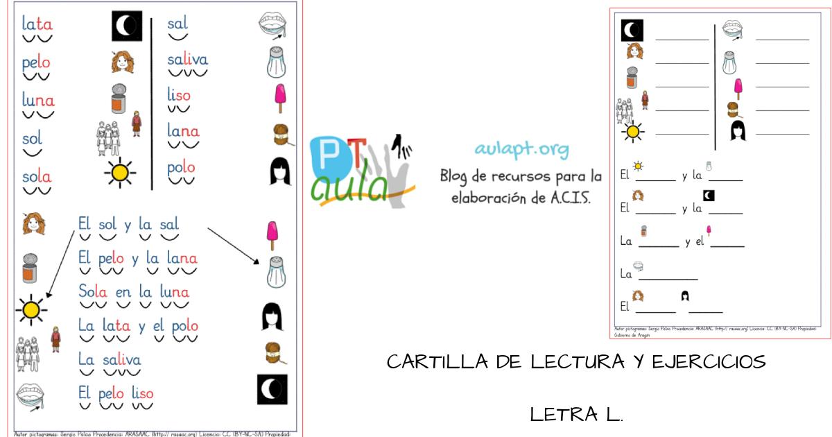 CARTILLA DE LECTURA Y ESCRITURA