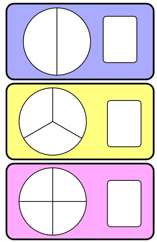 Juegos Con Fracciones Lectura Comparación Fracciones