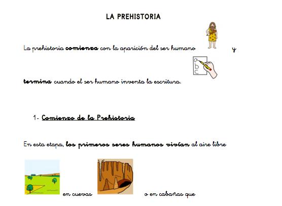 La Prehistoria Tema Adaptado De Ciencias Sociales Aula Pt