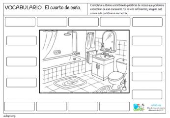 vocabulario el cuarto de baño - Aula PT