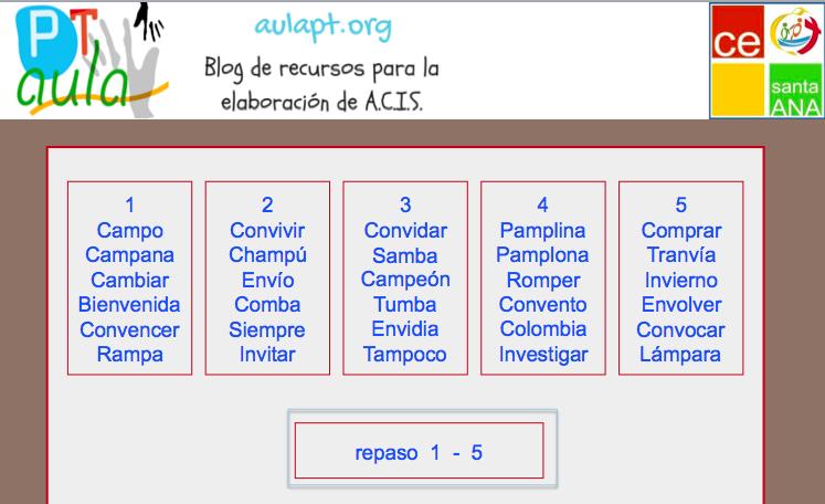 Ortografía Interactiva Palabras Con M Delante De P Y B Aula Pt