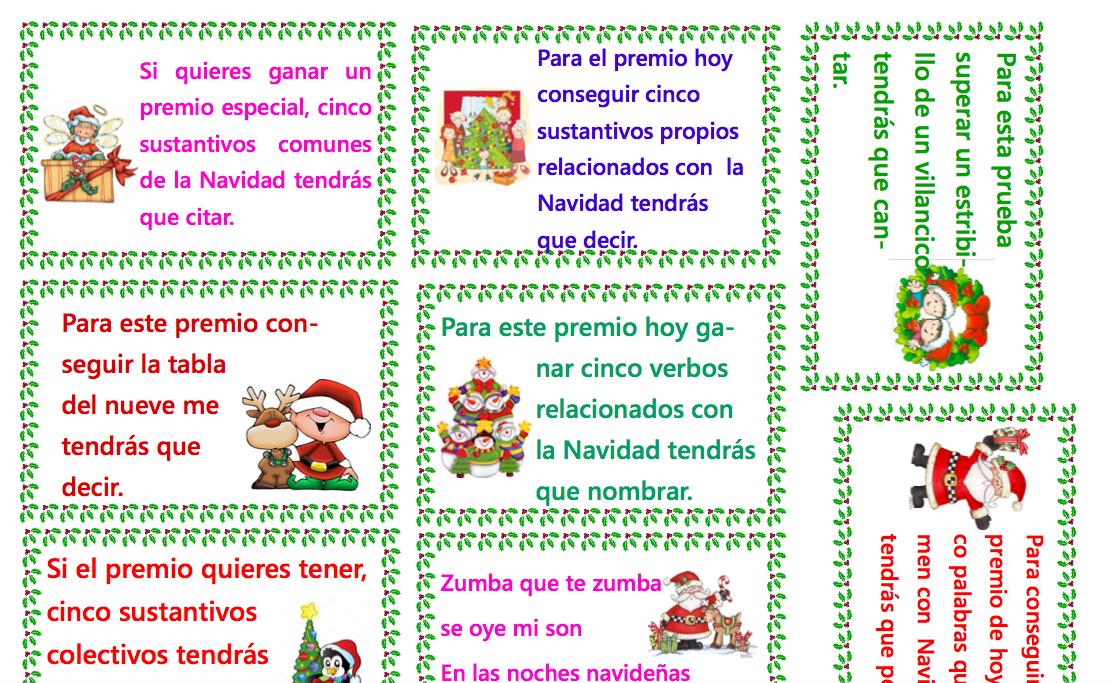 Calendario De Adviento Para 3º De Eprimaria Aula Pt